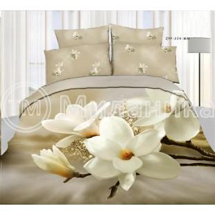 """Комплект 3d постельного белья из ткани сатин """"Лоск"""""""