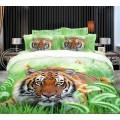 Постельное белье 3d Тигры из Ивановского сатина