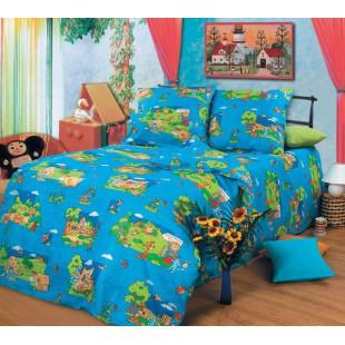 Детское постельное белье - Деревенька