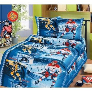 Детское постельное белье - Хоккей