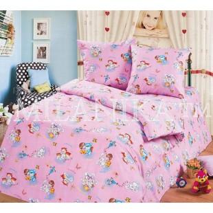 Детское постельное белье - Розовые игрушки