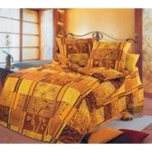 Постельное белье - Бамбук коричневый