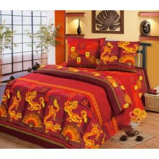 Постельное белье Китайский дракон из бязи