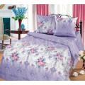 Ришелье светло-фиолетовый с цветами