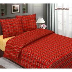 Шотландка - красный