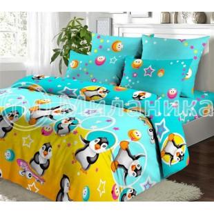 Детское постельное белье с пингвинами