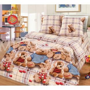 Топтыжки - постельное белье для детей из поплина