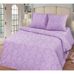 Постельное белье фиолетовое с вензелями - Аметист