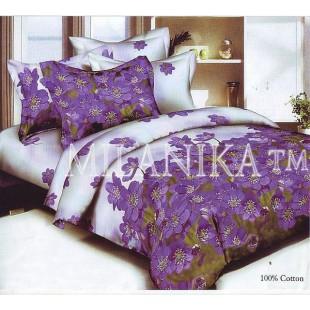 Постельное белье с фиолетовыми цветами Люция