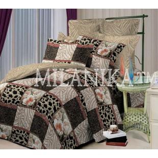 Комплект постельного белья в печворк стиле