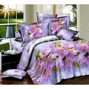 Комплект постельного белья из поплина Ванда