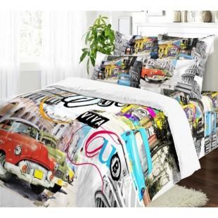 Комплект постельного белья из сатина Куба
