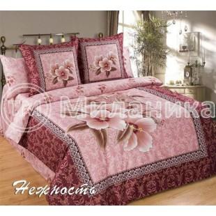 Комплект постельного белья из сатина в розовой гамме Нежность