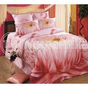 """Комплект постельного белья 3d из ткани сатин """"Рассвет"""""""