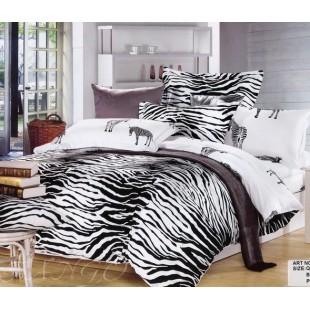 Постельное белье - Шкура зебры сатин с рисунками