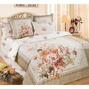 Купить постельное белье из сатина Ваниль