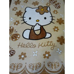 "Детский плед ""Hello Kitty"" бежевый"