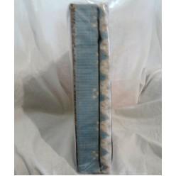 Хаски - голубое с коричневым