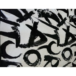 Буквы черно-белый