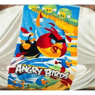 Детское полотенце с Angry Birds