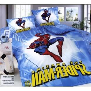 Детское постельное белье Спайдермен (Spider-Man) сатин