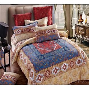 Постельное белье делюкс в персидском стиле бежевое