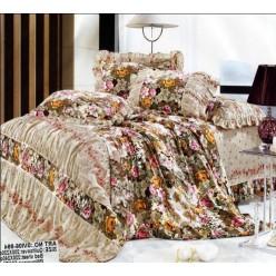 Романтичный прованс беж с коричневым - цветы