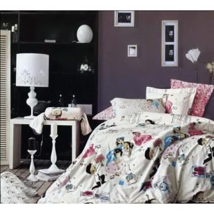 Комплект постельного белья - Предложение сатин нежно-розового цвета