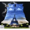 Сатин - Эйфелева башня на фоне неба
