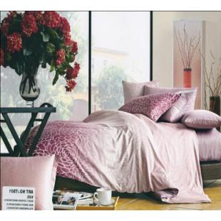 Нежно-розовое постельное белье из сатина - Призма