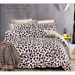 Бежевое леопардовые пятнышки - твил