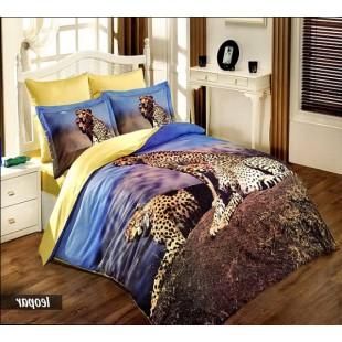 Постельное белье - Трое отдыхающих гепардов бамбук