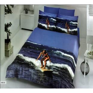 Бамбуковое постельное белье - Серфинг