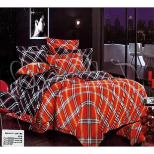 Классическое постельное белье в красную и черную клетку