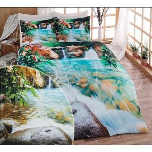 Постельное белье из бамбукового волокна с водопадом