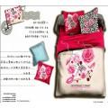 Малиновое постельное белье - Парижский шик