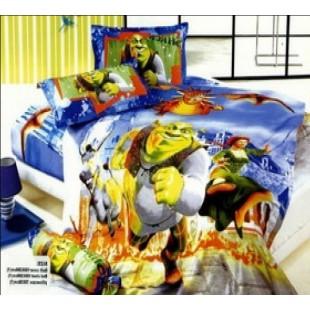 Детское постельное белье со Шреком и Фионой