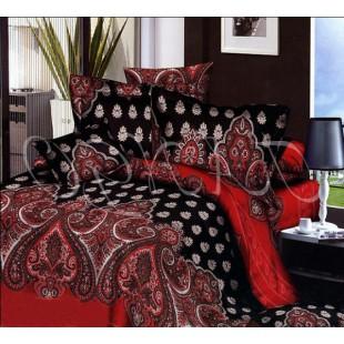 Постельное белье - Восточная сказка в черно-красных тонах