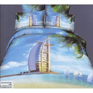 Постельное белье – Дубаи голубого цвета