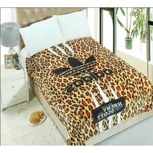 Леопардовый плед - Adidas