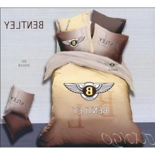 Постельное белье Bentley кофейно-коричневое