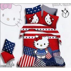 Постельное белье Китти в американском стиле