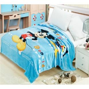 Детский плед на кровать - Микки Маус