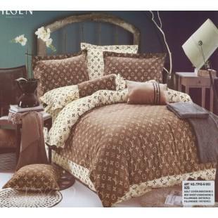 Постельное белье - Классический Louis Vuitton коричнево-бежевого цвета