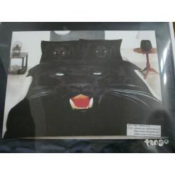 """Постельное белье 3d """"Черная пантера"""""""