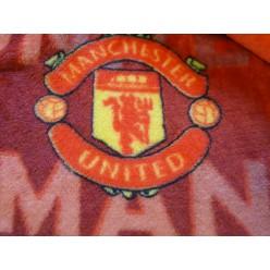 Плед Манчестер Юнайтед (Manchester United) красный