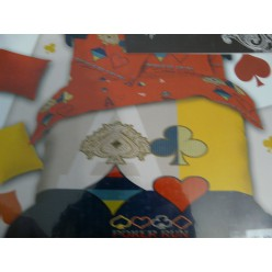 Постельное белье Покер с мастями карт