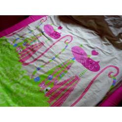 Кошки - розовый с салатовым
